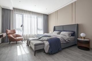 220㎡现代风卧室装修效果图