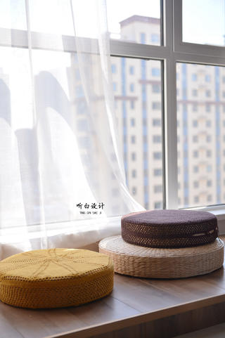 日式北欧三居室装修休闲地台设计