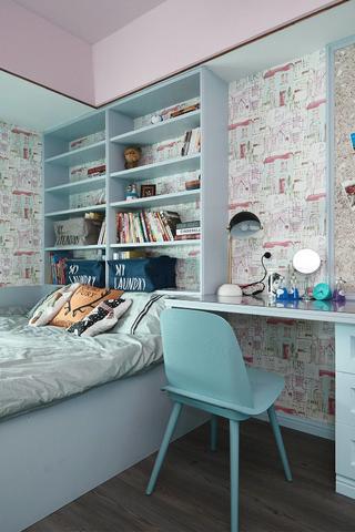 复式现代混搭风儿童房装修效果图