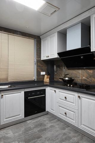 复式现代混搭风厨房装修效果图