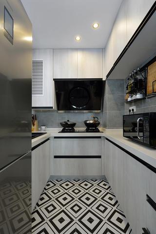 75平米兩居室廚房裝修效果圖