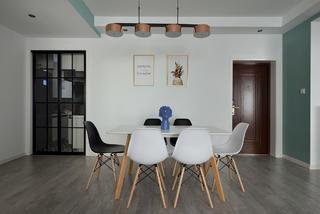 75平米两居室装修效果图