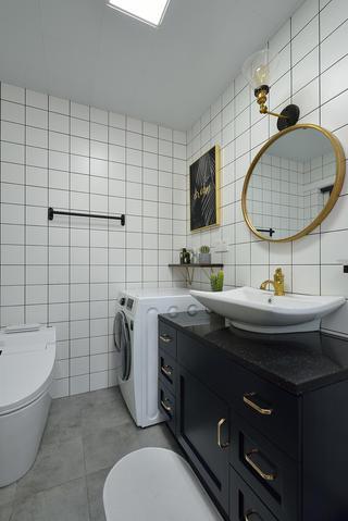 75平米两居室卫生间装修效果图