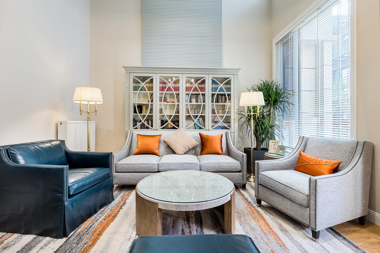 美式风别墅客厅装修效果图