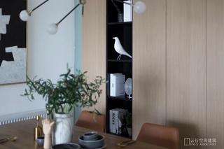 现代简约三居室装修餐边柜设计