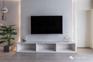 80平北欧三居电视背景墙装修效果图