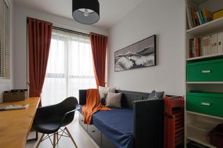104平米三居室书房装修效果图