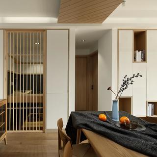 北欧日式三居装修效果图