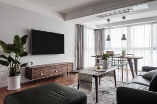 简约北欧风三居客厅装修效果图