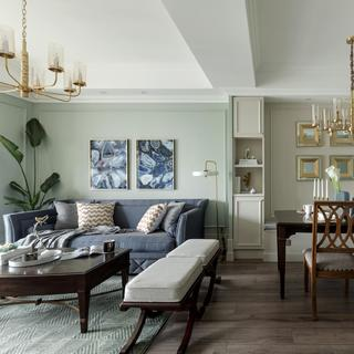 美式风格二居装修效果图