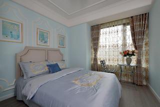 130㎡美式风格卧室装修效果图