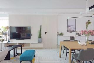 110平米两居室电视墙装修效果图