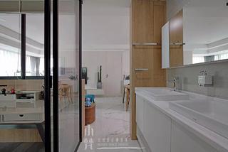 110平米两居室装修洗手台设计