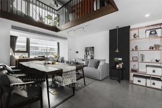75平loft一居餐厅装修效果图