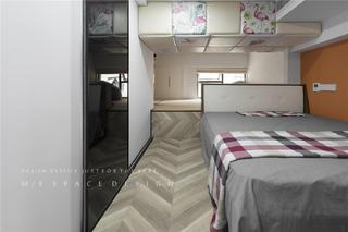 75平loft一居卧室装修效果图