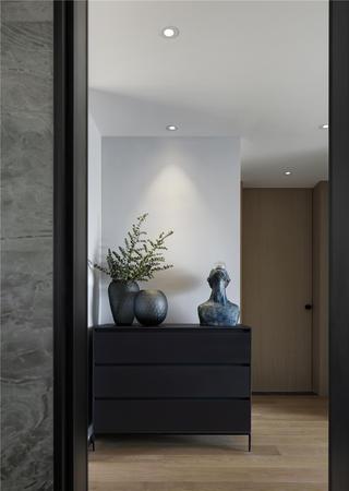 现代简约风三居装修边柜设计