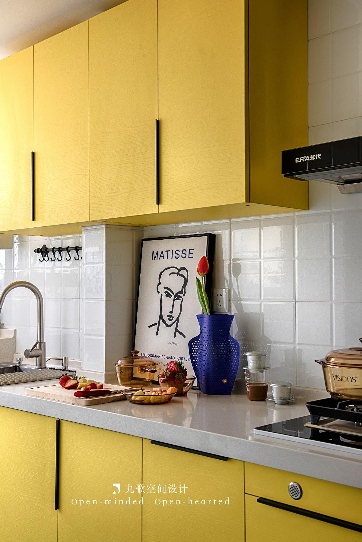32平米小户型厨房装修效果图