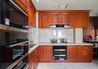 美式风格四居厨房装修效果图