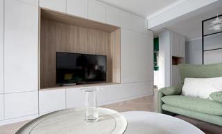 140平米三居室电视墙装修效果图