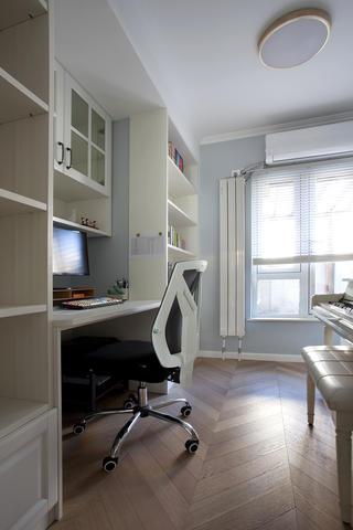 140平米三居室书房装修效果图