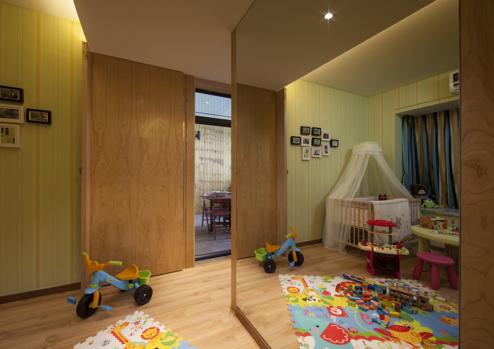 103平米三居室儿童房装修效果图