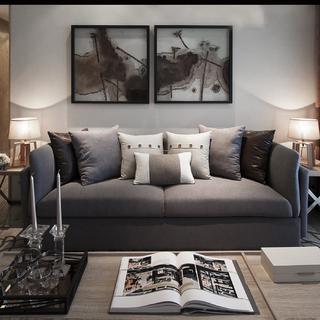 103平米三居室装修效果图