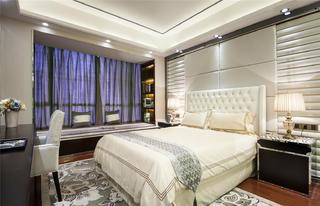 145㎡新中式装修卧室效果图