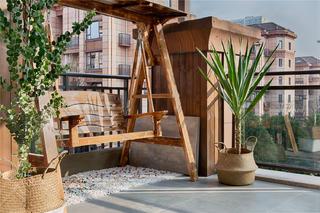 150㎡美式乡村风格装修露台设计