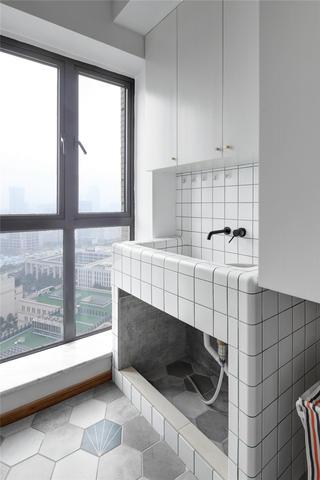 北欧风格三居阳台装修效果图