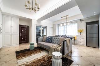 美式风格两居客厅每日首存送20