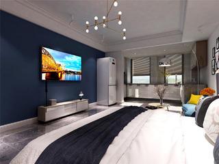 小户型公寓电视背景墙装修效果图