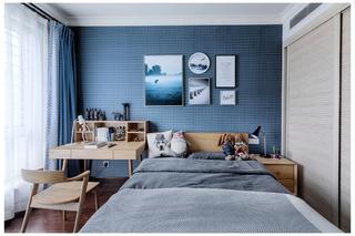 新中式三居装修卧室效果图