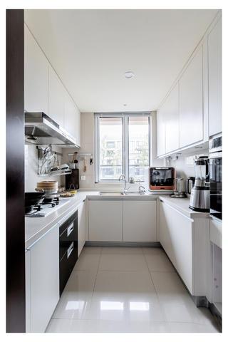 新中式三居装修厨房效果图