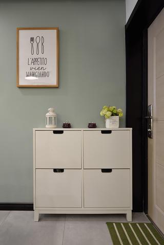 36平米小户型装修鞋柜设计