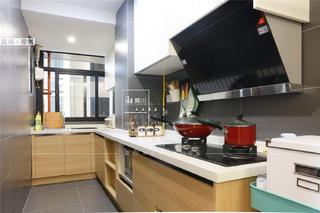 70㎡北欧二居厨房装修效果图