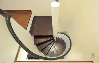 120㎡新古典风格装修楼梯设计图