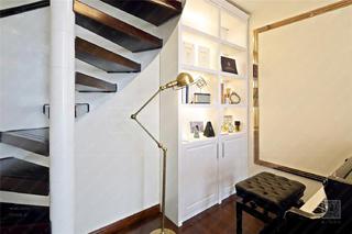 120㎡新古典风格装修展示柜设计
