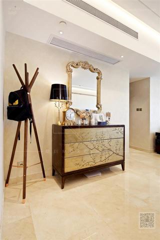 120㎡新古典风格装修边柜设计