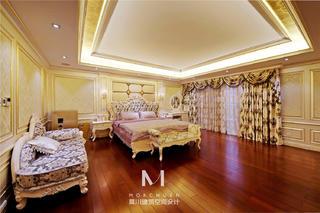 奢华欧式别墅卧室装修效果图