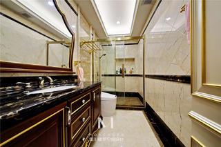 奢华欧式别墅卫生间装修效果图