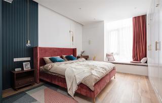 128平米三居卧室装修效果图