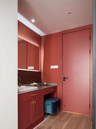 128平米三居室装修洗手台设计