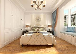 简欧风格两居卧室装修效果图