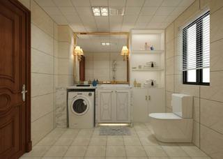 简欧风格两居卫生间装修效果图