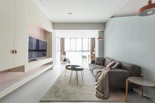 108平米两居室客厅装修效果图