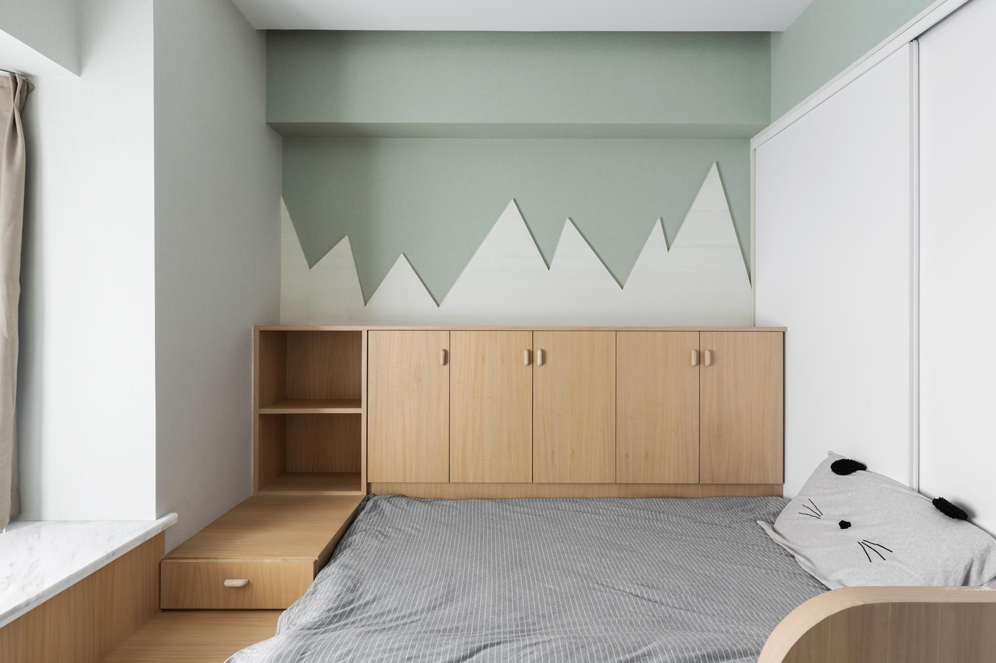 108平米两居室儿童房装修效果图
