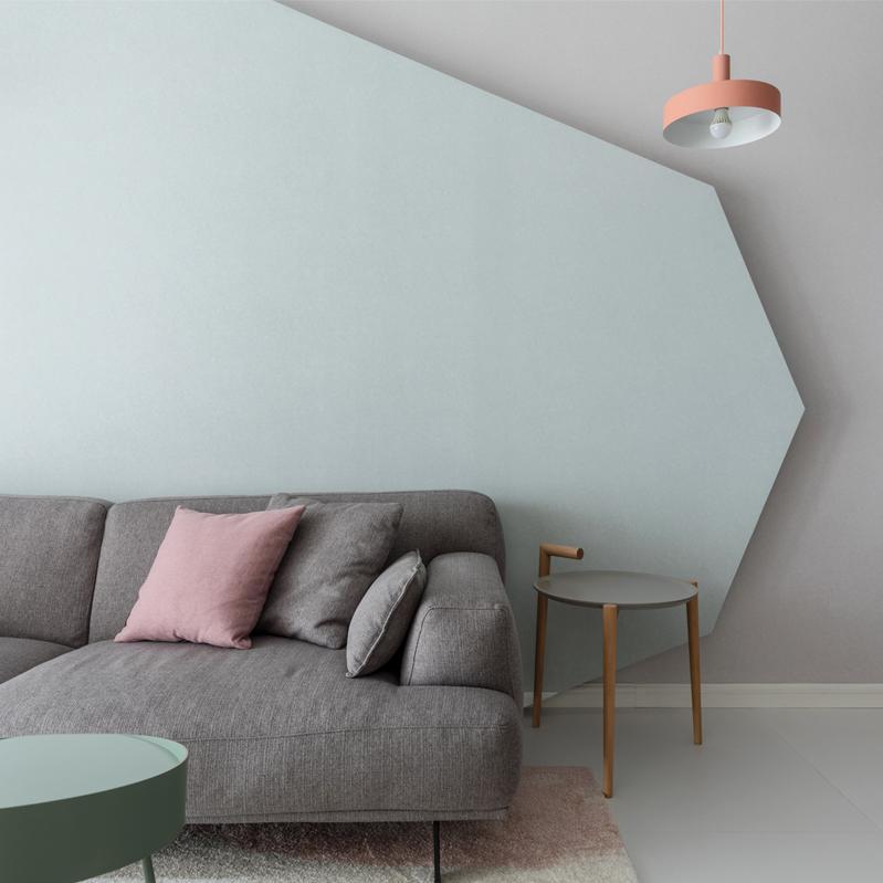 108平米两居室装修效果图