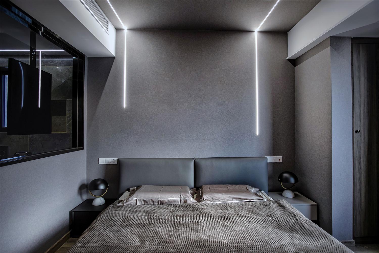 110㎡现代港式风卧室装修效果图