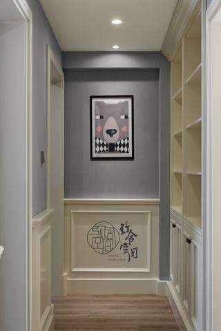 美式风格三居室走廊装修效果图