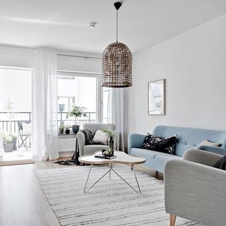 简约北欧公寓装修效果图